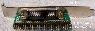 The A5915-Rear SCSI 50-way FEM to 68-way Male Adapter