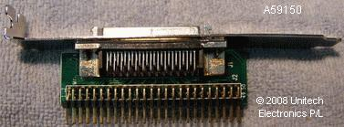 The A59150-Top SCSI 50-way FEM to 68-way Male Adapter